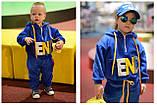 Утепленный детский спортивный костюм для девочки, фото 2