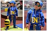 Утепленный детский спортивный костюм для девочки, фото 6