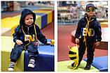 Утепленный детский спортивный костюм для девочки, фото 7