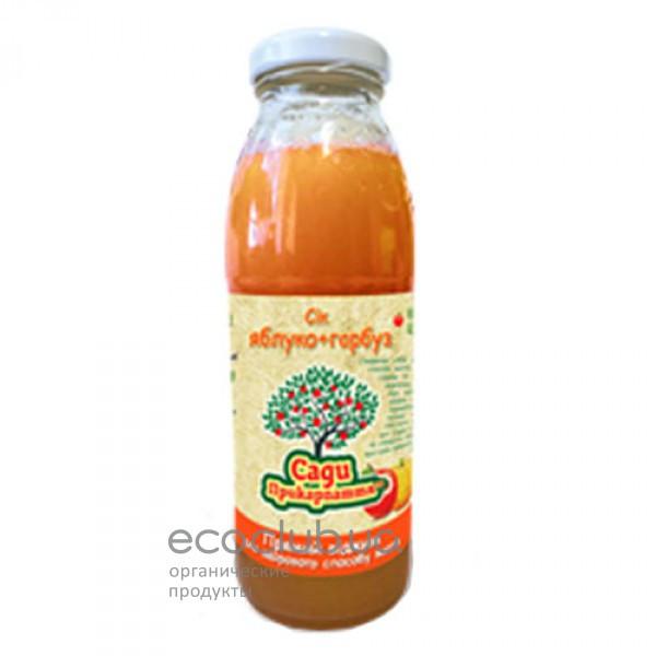 Сок яблочно-тыквенный натуральный Сады Прикарпатья 0,3л