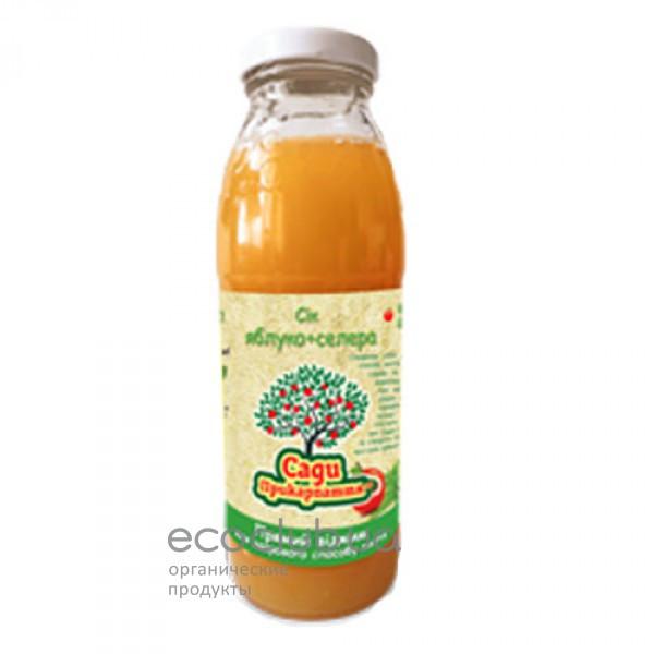 Сок яблочно-сельдерейный Сады Прикарпатья 0,3л