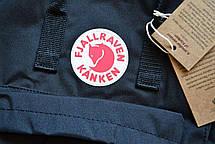 Шведский рюкзак Fjallraven Kanken Classic 16л, унисекс, разные цвета,для школы сумка портфель, фото 2