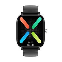 Умные часы NO.1 DT36 с пульсоксиметром и тонометром (Черный), фото 2