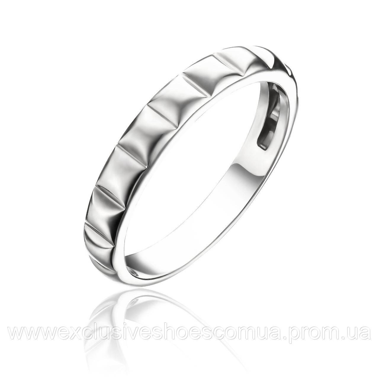 Серебряное кольцо без вставок, Avangard, 910150.