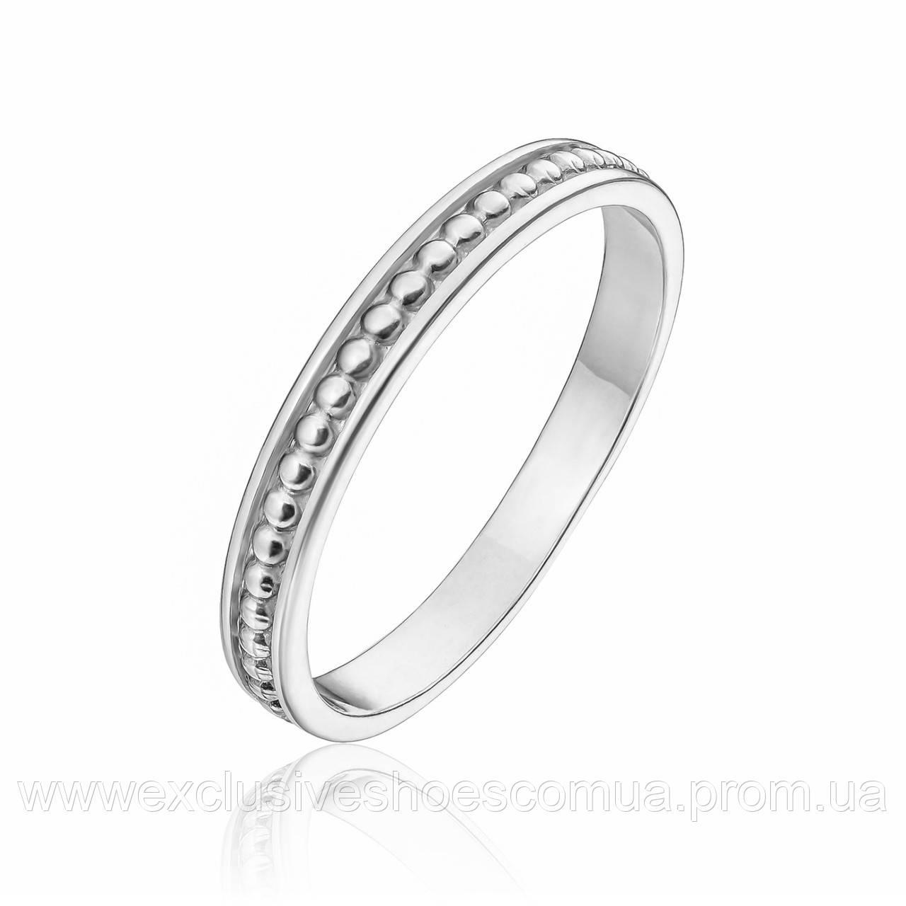 Серебряное кольцо без вставок, Avangard, 910151