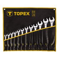 Набор инструментов Topex ключей комбинированных 13 -32 мм, 12 шт. (35D758)