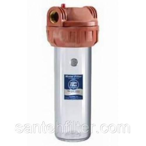 Магистральный корпус - фильтр (колба) аналог Aquafilter (Аквафильтр для горячей воды)