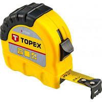 Рулетка Topex стальная лента 8 м x 25 мм (27C308)