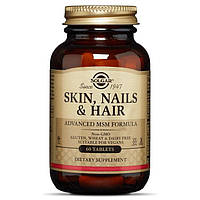 Solgar Skin, Nails & Hair, Advanced MSM Formula  (60 tabs)