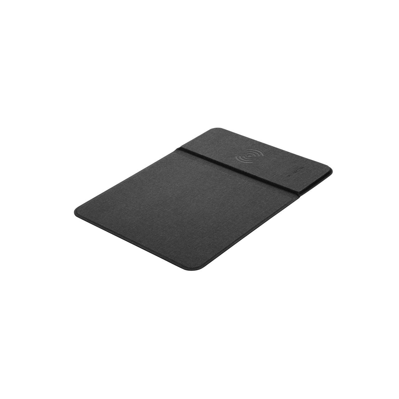 Коврик для мыши Canyon CNS-CMPW5 Black с беспроводной зарядкой QI