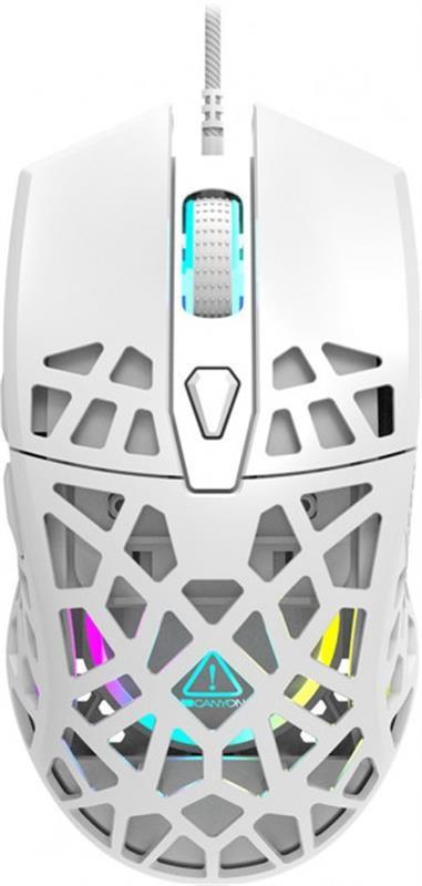 Миша Canyon Puncher CND-SGM20W White USB