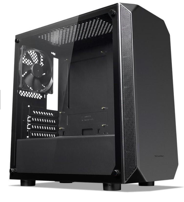 Корпус Tecware Nova M Black (TWCA-NOVAM-BK) без БЖ