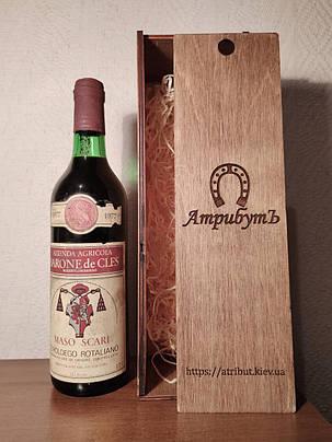 Вино 1977 года Barone de Cles Италия, фото 2