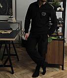 Мужской теплый домашний костюм на флисе преиум качества, фото 2