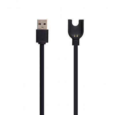 Кабель Usb Mi Band 3 Cable Цвет Чёрный