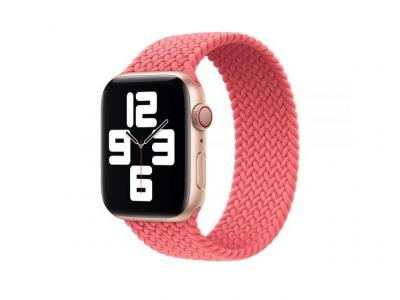 Ремешок для Apple Watch Band Nylon Mono Size L 42 / 44mm Цвет Розовый