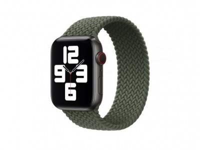 Ремешок для Apple Watch Band Nylon Mono Size M 42 / 44mm Цвет Зелёный