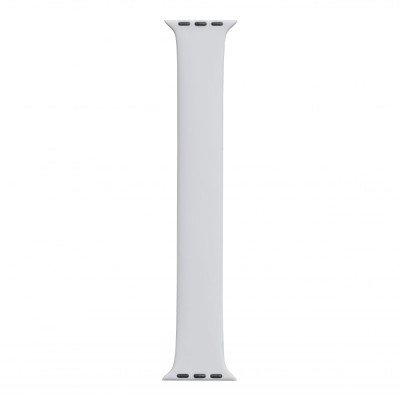 Ремешок для Apple Watch Band Silicone Mono Size 38 / 40mm L Цвет Серый