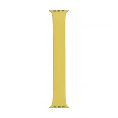 Ремешок для Apple Watch Band Silicone Mono Size 42 / 44mm L Цвет Жёлтый