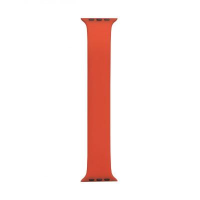 Ремешок для Apple Watch Band Silicone Mono Size 42 / 44mm M Цвет Оранжевый