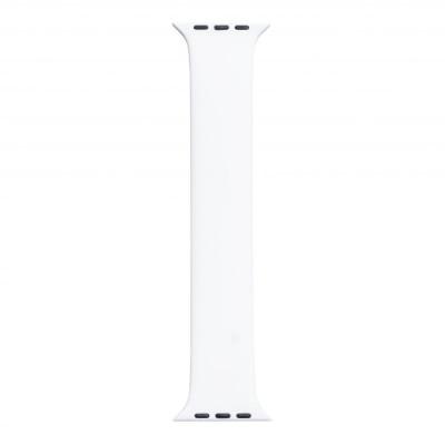 Ремешок для Apple Watch Band Silicone Mono Size 42 / 44mm S Цвет Белый