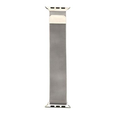 Ремешок для Apple Watch Milanese loop 42 / 44mm Silver Цвет Стальной