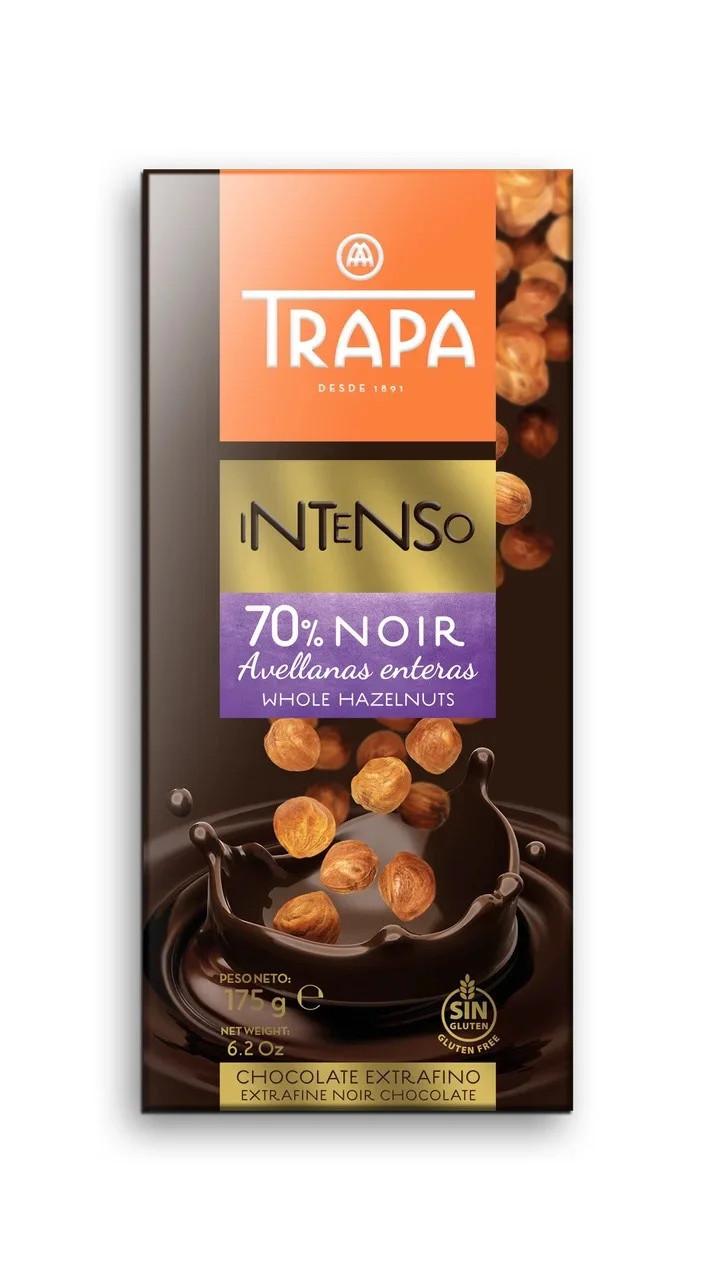 """Trapa Intenso Puro """"Черный с цельным фундуком"""""""