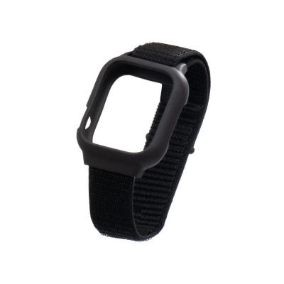 Ремешок для Apple Watch Nylon Loop 38 / 40mm Protect Case Цвет Чёрный