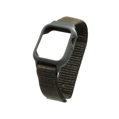Ремешок для Apple Watch Nylon Loop 42 / 44mm Protect Case Цвет Тёмно-Зелёный