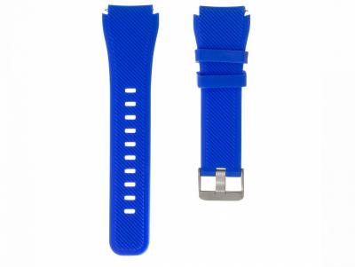 Ремешок для Samsung Gear S3 Silicone Band Цвет Голубой
