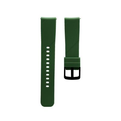 Ремешок для Xiaomi Amazfit Bip Original Design Цвет Тёмно-Зелёный
