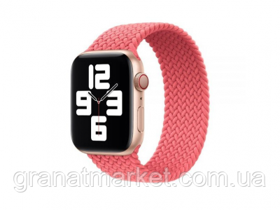 Ремешок для Apple Watch Band Nylon Mono Size M 38 / 40mm Цвет Розовый