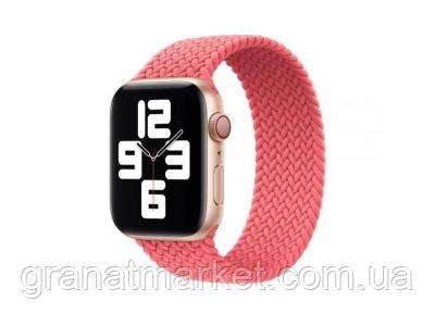 Ремешок для Apple Watch Band Nylon Mono Size M 42 / 44mm Цвет Розовый