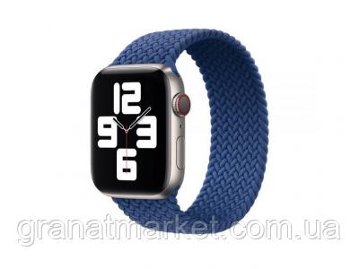 Ремешок для Apple Watch Band Nylon Mono Size M 42 / 44mm Цвет Синий
