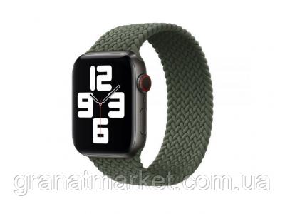 Ремешок для Apple Watch Band Nylon Mono Size S 38 / 40mm Цвет Зелёный
