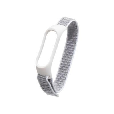 Ремешок для Xiaomi Mi Band 3 / 4 Nylon Цвет Белый
