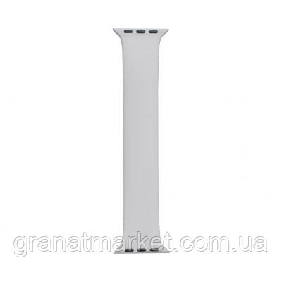 Ремешок для Apple Watch Band Silicone Mono Size 38 / 40mm S Цвет Белый