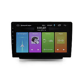 Автомагнітола MP5 1088 BT 2Din 10.1 Android 9 GPS 4 ядра 1g оперативної 16g вбудованої