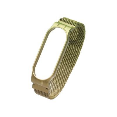 Ремешок для Xiaomi Mi Band 5 Milanese Loop Gradient Цвет 34, Green