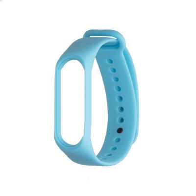 Ремешок для Xiaomi Mi Band 5 Original Design Цвет Голубой