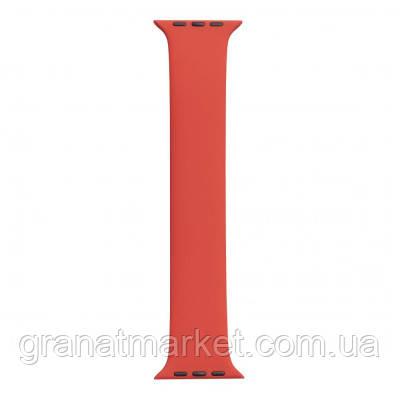 Ремешок для Apple Watch Band Silicone Mono Size 42 / 44mm S Цвет Красный