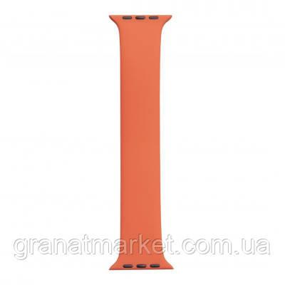 Ремешок для Apple Watch Band Silicone Mono Size 42 / 44mm S Цвет Оранжевый