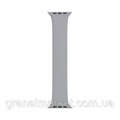Ремешок для Apple Watch Band Silicone Mono Size 42 / 44mm S Цвет Серый