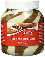 Паста JEDEN TAG Duo-Schoko-Creme