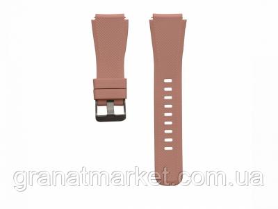 Ремешок для Samsung Gear S3 Silicone Band Цвет Коричневый