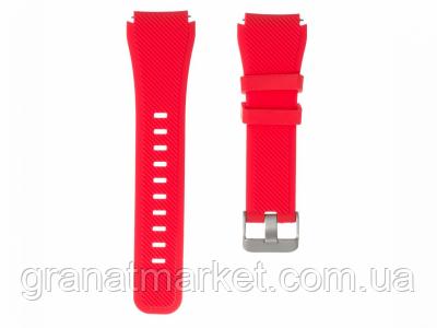 Ремешок для Samsung Gear S3 Silicone Band Цвет Красный