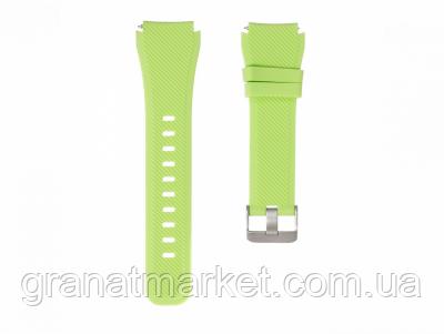 Ремешок для Samsung Gear S3 Silicone Band Цвет Светло-Зелёный