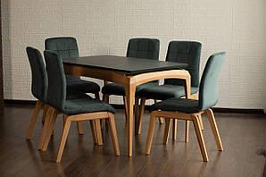 Обеденный комплект: Стол Navi 120(+40)х80 + стулья Navi/Нави Soft Марко™