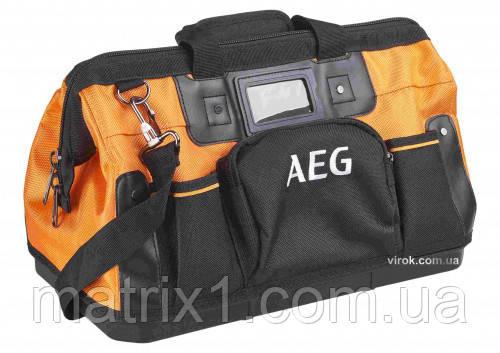 Сумка для инструмента AEG 8 внутренних и  7 внешних карманов 420 Х 230 Х 300 мм (Германия)