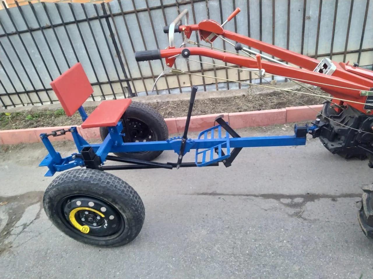 Адаптер для мотоблока под жигулевские колёса